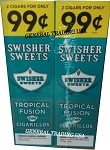 Swisher Sweets Tropical Fusion Cigarillos 60 Cigars
